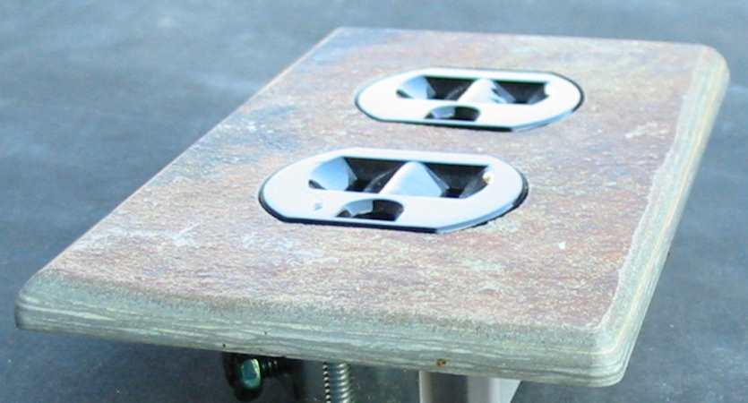 Slate Ceramic Quartz Travertine Granite Switch Plate Covers