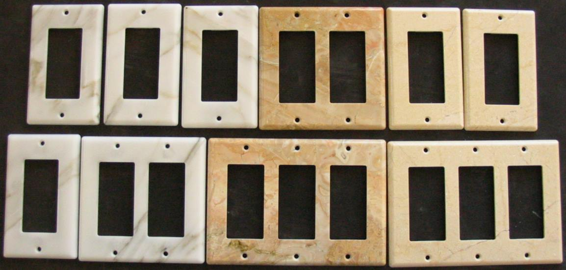 Electrical Switch Plates Photo Gallery Of Custom Granite Travertine Marble Stone Switch