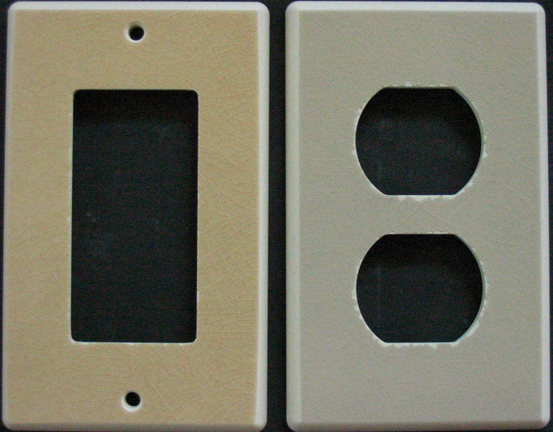 Ceramic Wall Plate Covers Inspiration Ceramic Switchplates Switch Plate And Outlet Covers Decorating Inspiration