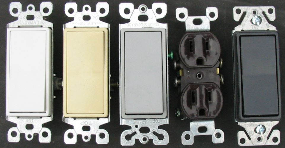 Our custom switchplate covers fit most electrical fixtures.