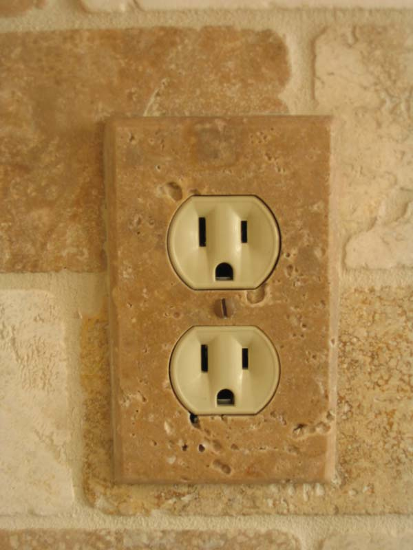 photos of their installed custom switch plates