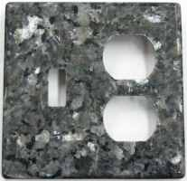 Granite switch cover plate