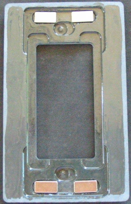 Magnetic Custom Stone Switch Plates