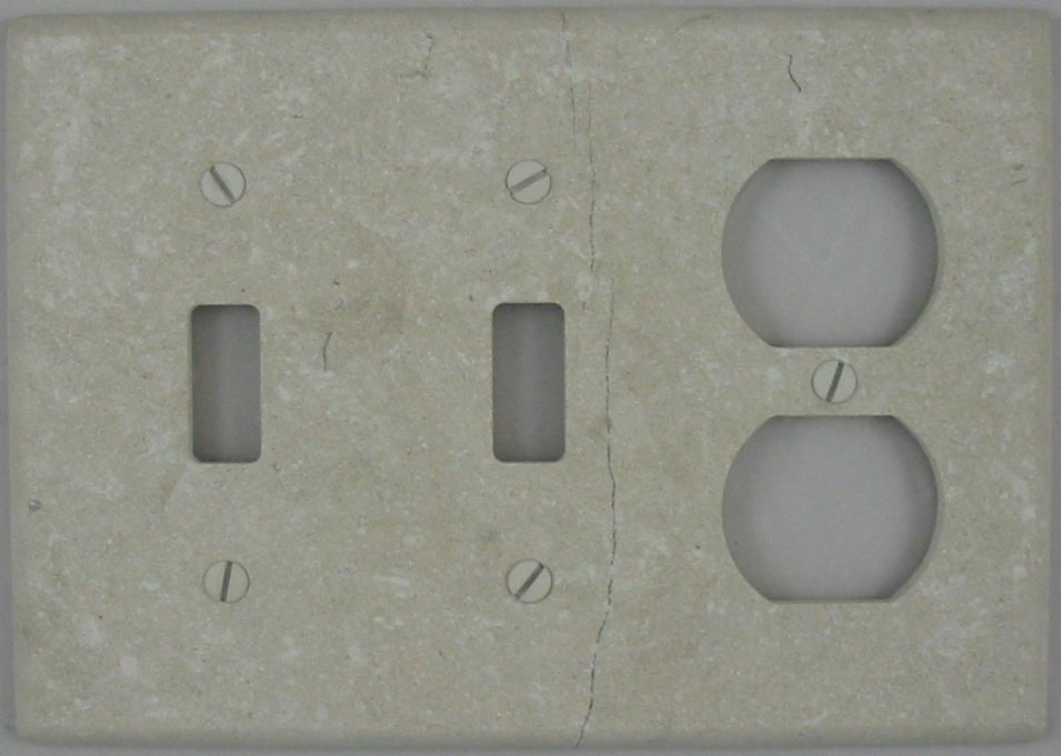 Marble switchplates switch plate and outlet covers