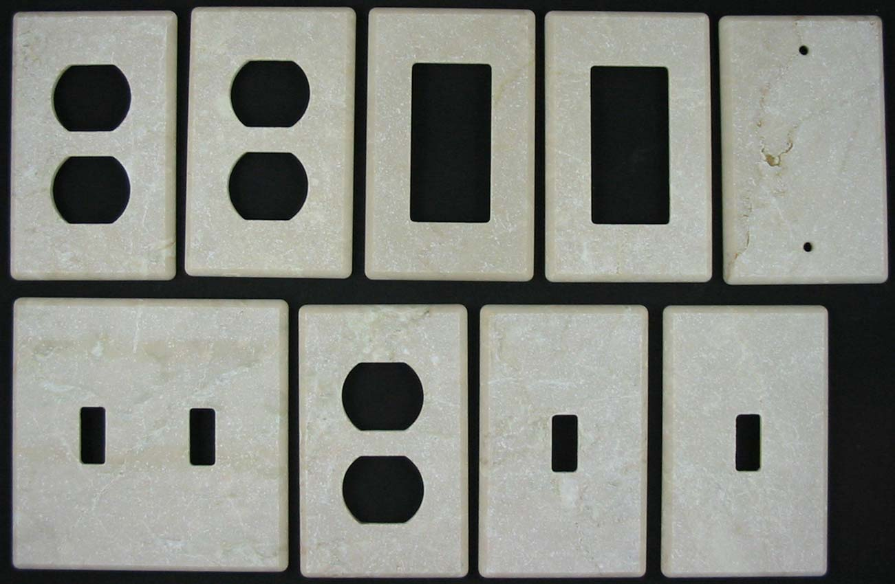 Black Wall Socket Covers Prepossessing Marble Switchplates Switch Plate And Outlet Covers Design Ideas