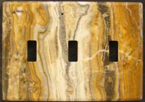 Arizona onyx switch plate