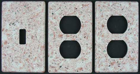 Silestone switch plates