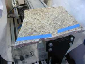 The makings of granite cover plates