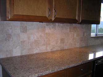 Tiled in Durango travertine switch cover outlet plates