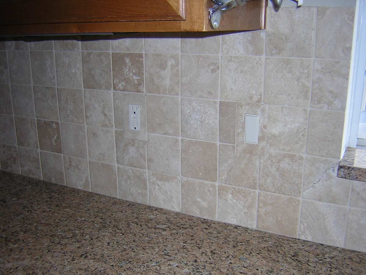 Tiled In Durango Travertine Switch Cover Outlet Plates Single Gang Decora